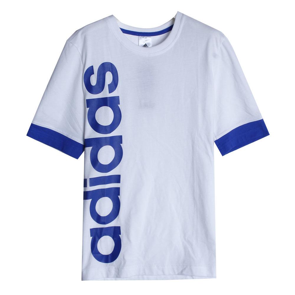 adidas男童运动短袖t恤