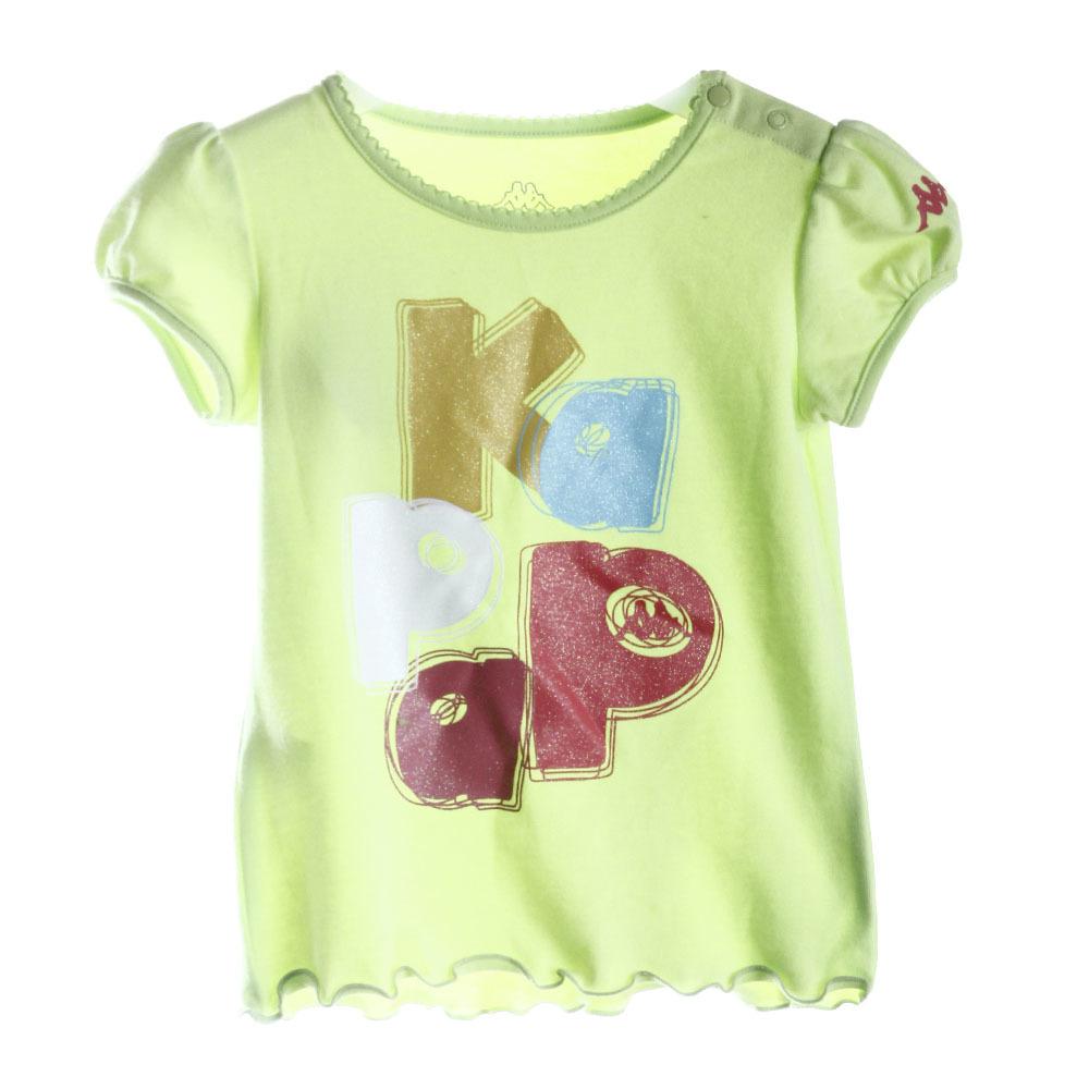 kappa kids小童可爱圆领短袖t恤