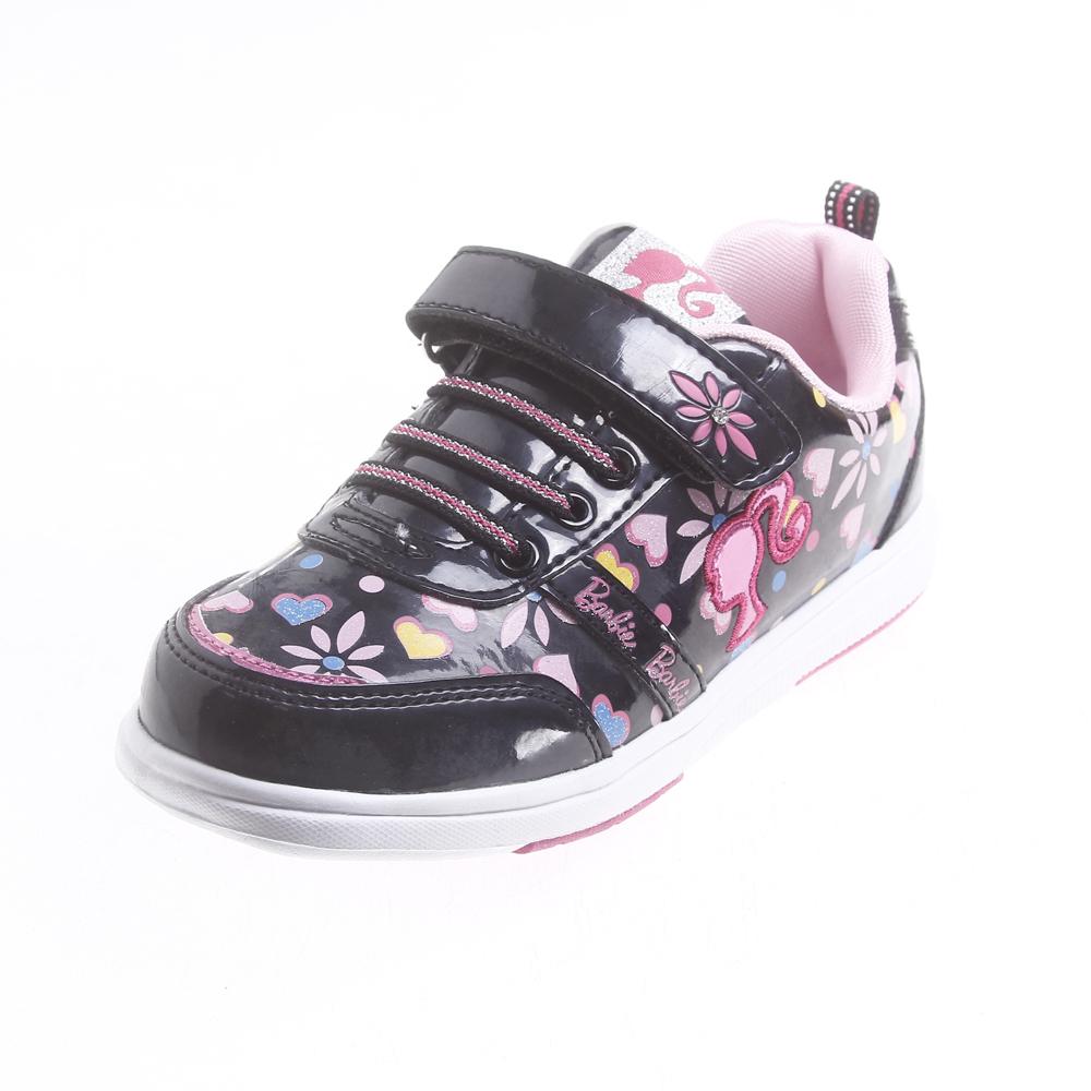 儿童运动鞋设计图手稿展示