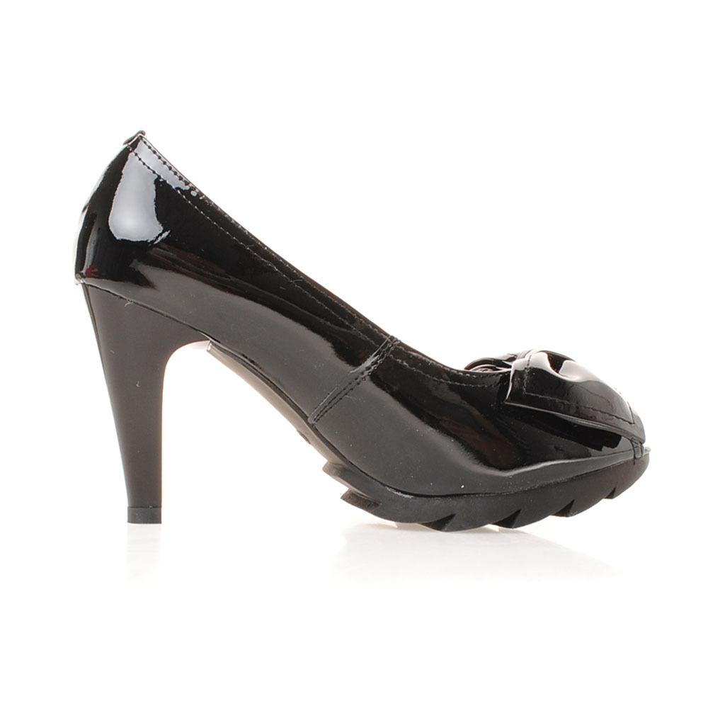 红诗缇女款鱼嘴高跟鞋