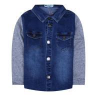 米拉熊衬衫秋冬长袖衬衫0733014