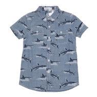 水孩儿衬衫春夏短袖衬衫ASXXL507