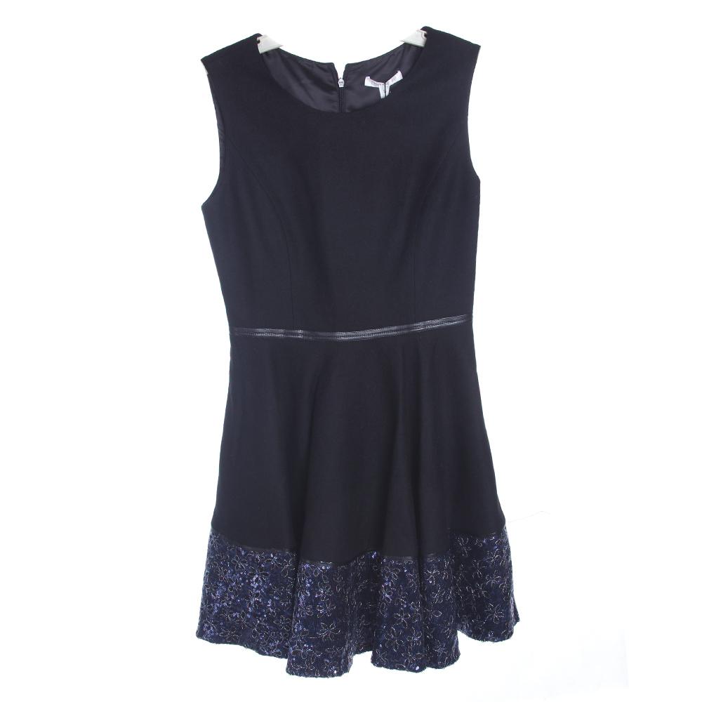 EUNICE FU女款无袖优雅连衣裙