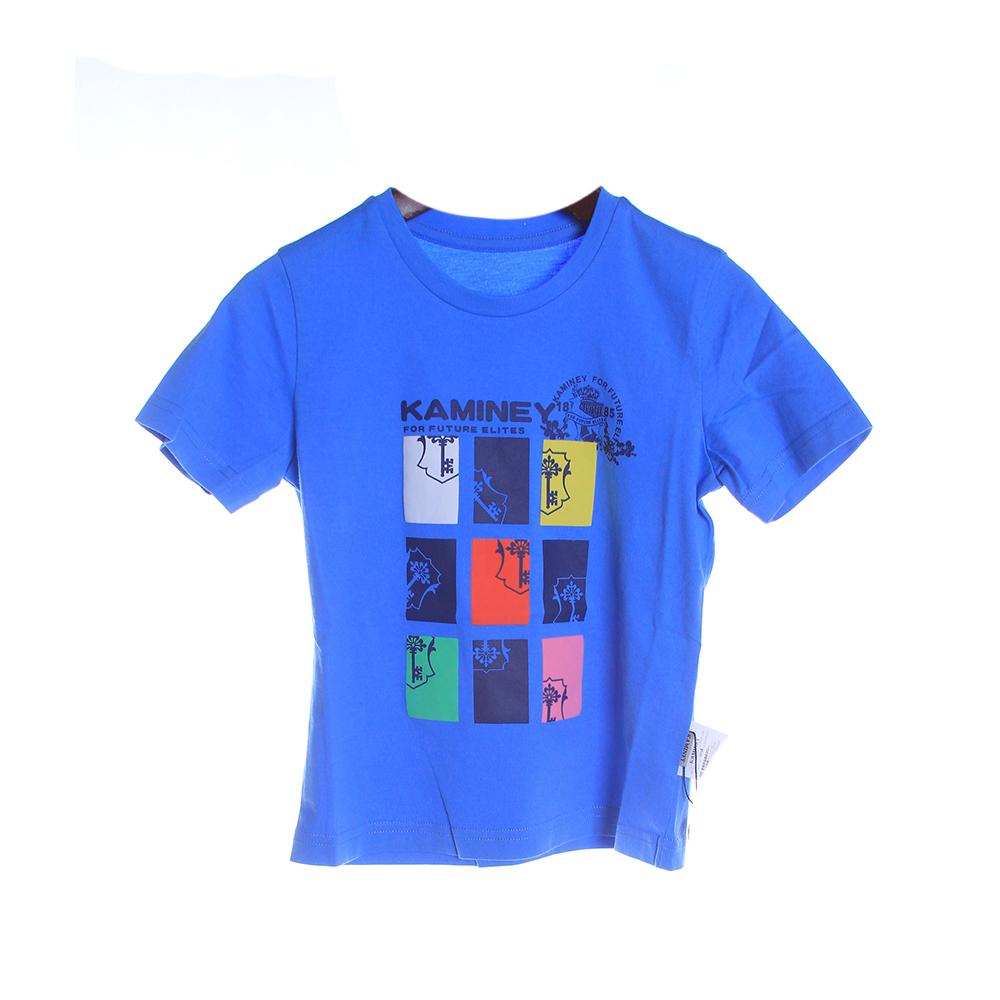 卡米尼儿童短袖t恤图片
