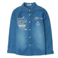米拉熊衬衫秋冬长袖衬衫0735085