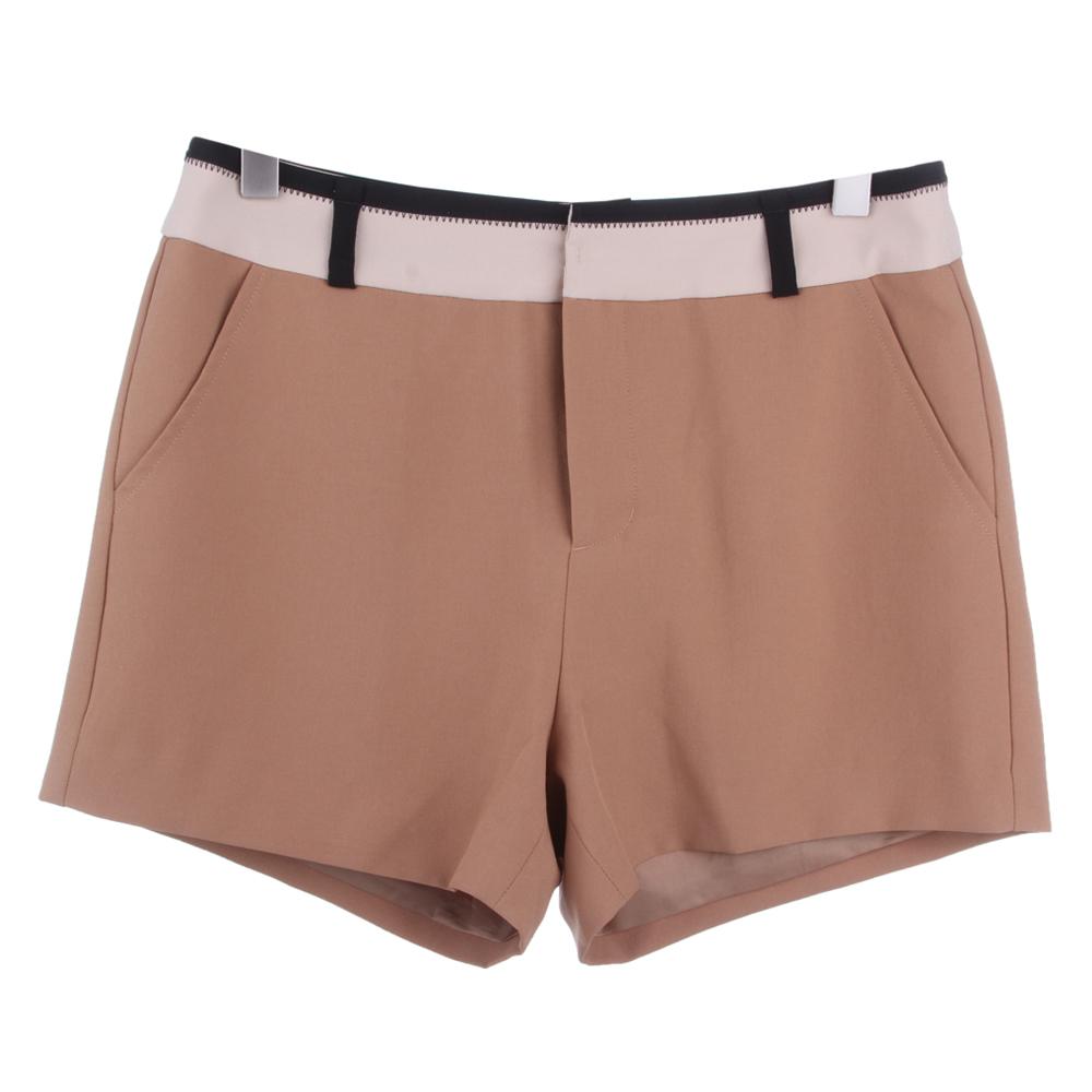 S+女款修身显腿长短裤