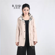 B.SIQI 风衣 2018 春夏 大衣 6X005FD